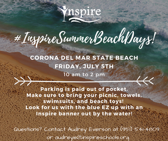 Inspire's Summer Beach Days! CORONA DEL MAR