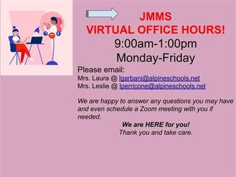 JMMS Virtual Office Hours