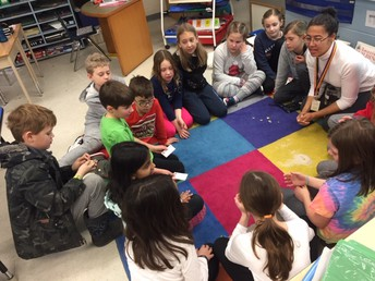 Sharing our learning - Welcome Ms. Salvary