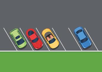 School Parking Lot & Bus Loading Zone