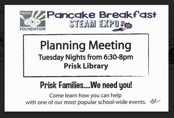 Planning Meeting Tuesdays!