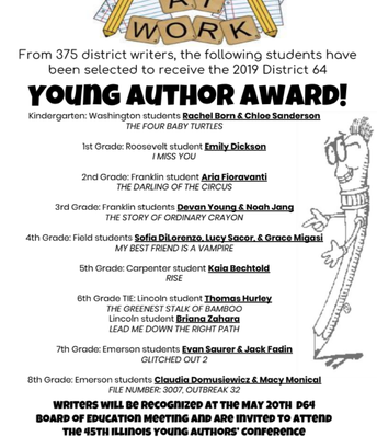 Young Author Award!