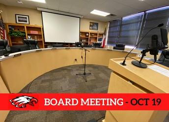 Argyle ISD School Board Meeting Monday, Oct. 19