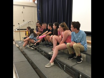 Tamanend Students Help Barclay 6th Graders Rise Together