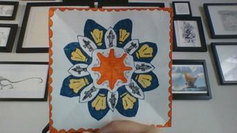6th Grade Radial Symmetry #1 by Alice