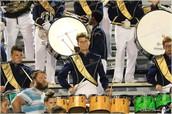 The Buckhorn High School Marching Band