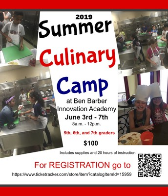 Ben Barber Culinary Camp