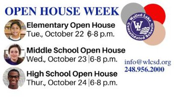 District Open House Week