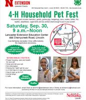 4-H Household Pet Fest