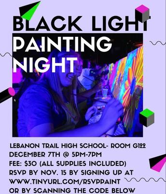 Black Light Painting Night
