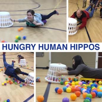 Human Hungry Hippo!