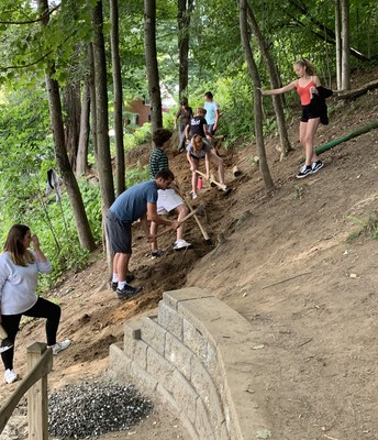 9th Grade Trail Work