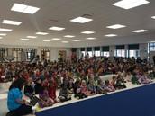 STRIPES Community Building Assembly!