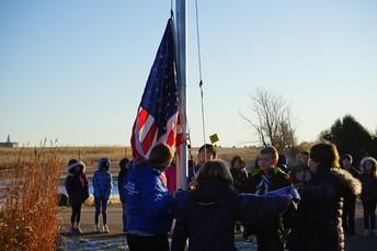 Veterans Day Flag Program @ Lake