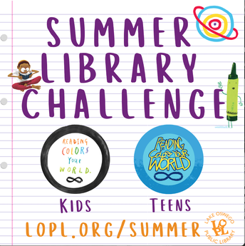 LOPL SUMMER LIBRARY CHALLENGE:
