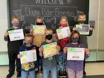 Third Grade Award Winners