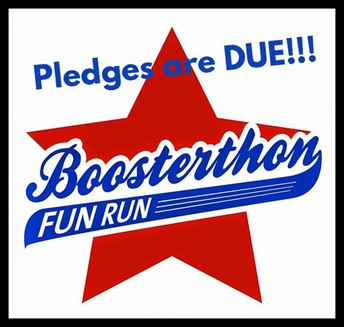 Pledges Due Now to Wrap Up Our SUCCESSFUL Fun Run!