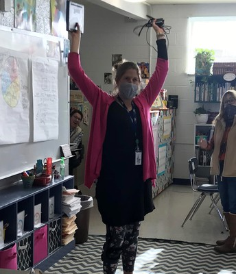 Nashville Elementary Receives #workHERE mini-grant