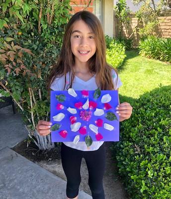 4th Grade Mandala Project by Victoria