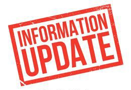 Update Your Information!