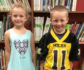 Lane Smith and McKenna Eaglin Chosen to Represent MES!