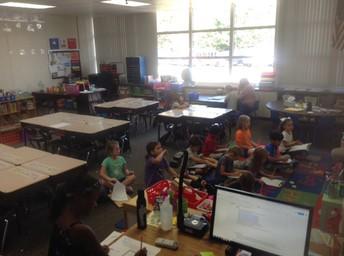 Miss. Kenny's 1st Grade Class
