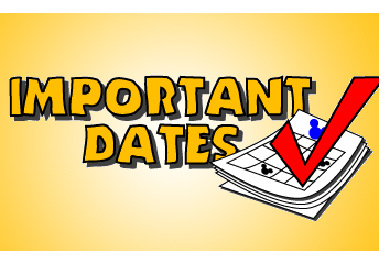 Important End-of-Year Dates