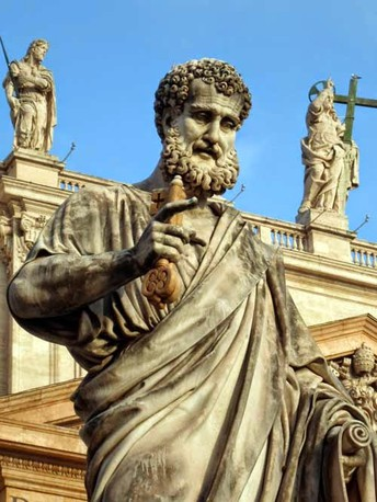 Saint Peter: Feast Days -  February 22 and June 29