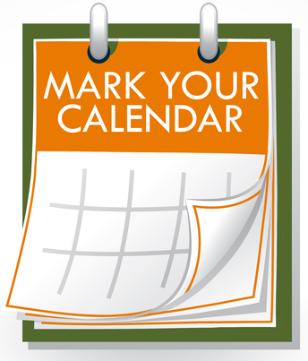 Mark Your Calendar - Upcoming Events