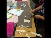 STEM Activity - Building a bridge to hold the Three Billy Goats Gruff