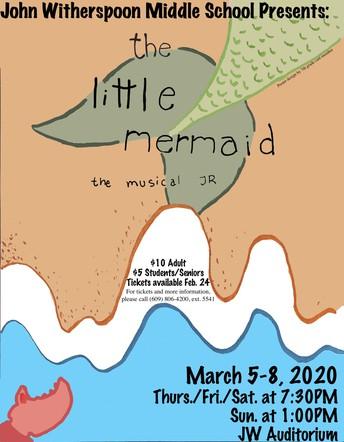 JW School Musical:  The Little Mermaid, Jr.