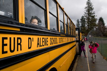 Our local levy supports new school buses