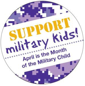 Month of the Military Child - Dress in Purple on Friday, April 26th (no cost)