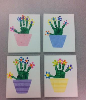 handprint art ideas!