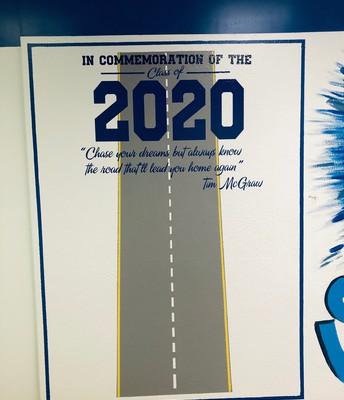 Class of 2020 Wall Mural
