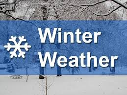 **NEW WINTER WEATHER** Late Start - Early Release