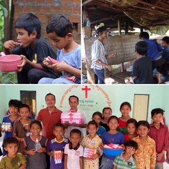Community Outreach- Svay Rieng province