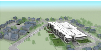 Future One-site WHS Massing