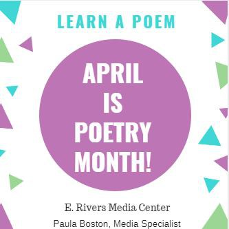 April is Poetry Month!!