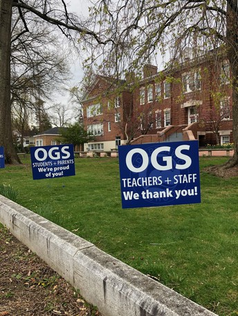 OGS Lawn Signs
