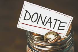 GET THOSE DONATIONS IN BEFORE THE END OF THE TAX YEAR!