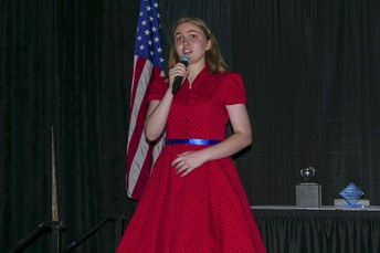 Rockbridge Junior, Allison Whittom, Sings the National Anthem