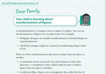 Sample Family Letter