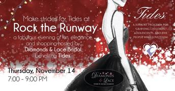 Make strides for Tides at Rock the Runway!  November 14th