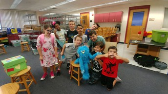 Caring Cardinal group being silly!