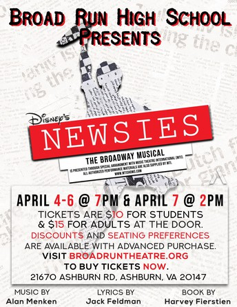 Broad Run High School Musical, The Newsies