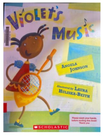 "Book Blurb: ""Violet's Music"""