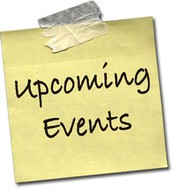 Mark Your Calendar!  Upcoming Events