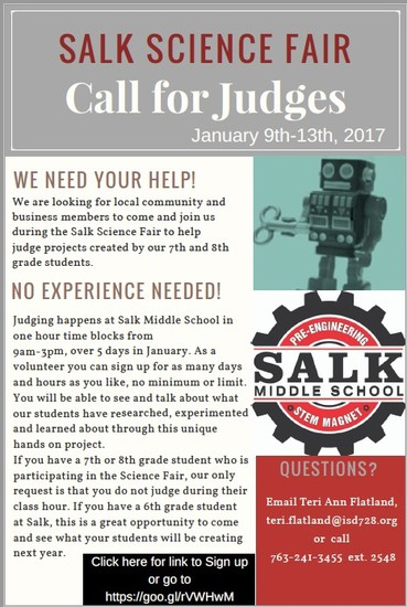Salk News | Smore Newsletters for Education