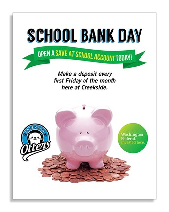 Bank Day - Coming Soon!